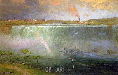 Niagara, 1893 | George Inness | Painting Reproduction