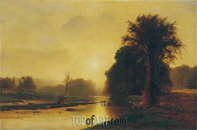 George Inness | Autumn Meadows, 1869
