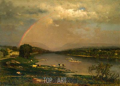 George Inness | Delaware Water Gap, 1861