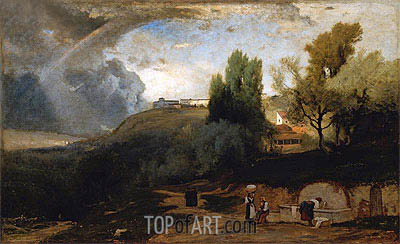 Scene in Perugia, 1875 | George Inness | Painting Reproduction