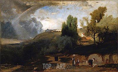 George Inness | Scene in Perugia, 1875