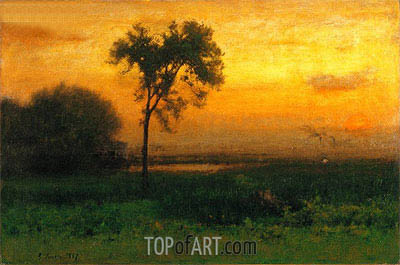 Sunrise, 1887 | George Inness | Painting Reproduction