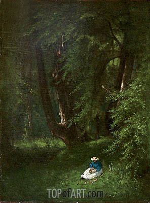 George Inness | In the Woods, 1866