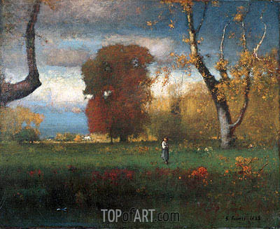 Landscape, 1888 | George Inness | Painting Reproduction