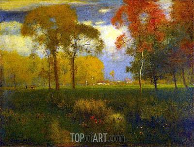 George Inness | Sunny Autumn Day, 1892