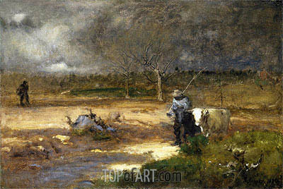 Homeward, 1881 | George Inness| Painting Reproduction