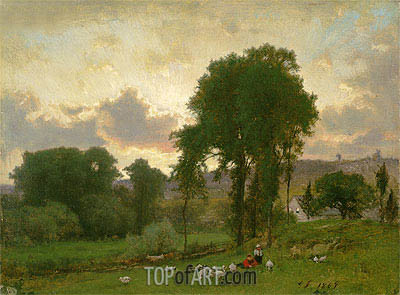George Inness | Durham, Connecticut, 1869