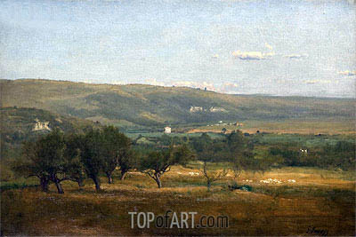 George Inness | Italy, c.1872/74