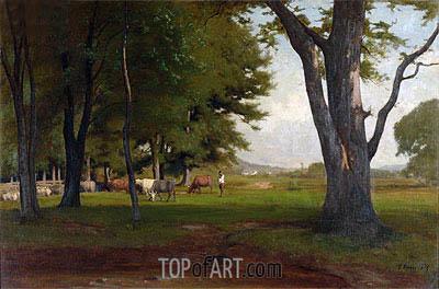 George Inness | Summer Landscape, 1876