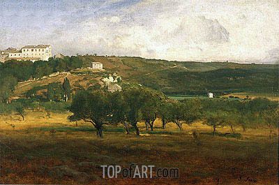 Perugia, c.1873 | George Inness | Painting Reproduction
