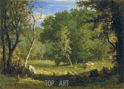 Elf Ground, c.1860 | George Inness | Painting Reproduction