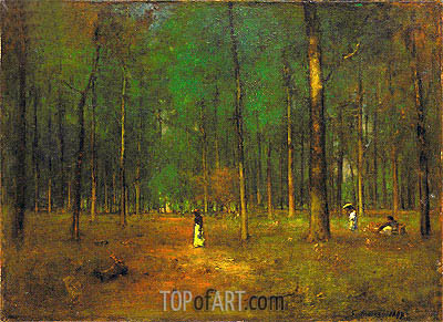 Georgia Pines, 1890 | George Inness | Painting Reproduction