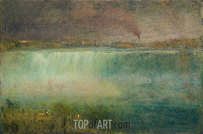 Niagara, 1889 | George Inness| Painting Reproduction