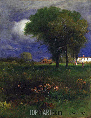 September Afternoon, 1887 | George Inness | Painting Reproduction