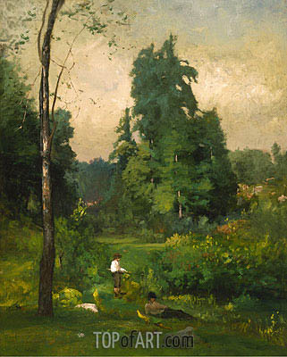 Summer, Montclair, 1877 | George Inness| Painting Reproduction
