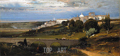 Ariccia, 1874 | George Inness | Painting Reproduction