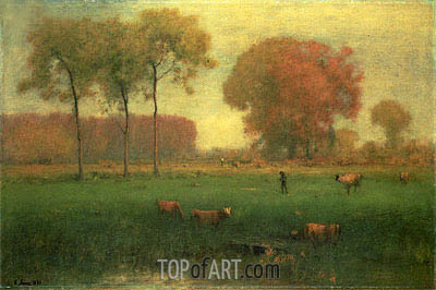 Indian Summer, 1891 | George Inness | Painting Reproduction
