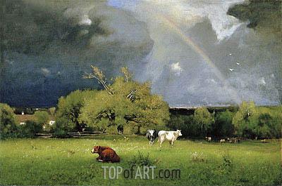 George Inness | The Rainbow, c.1878/79