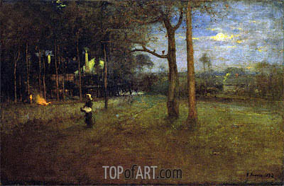 George Inness | Moonlight, Tarpon Springs, 1892