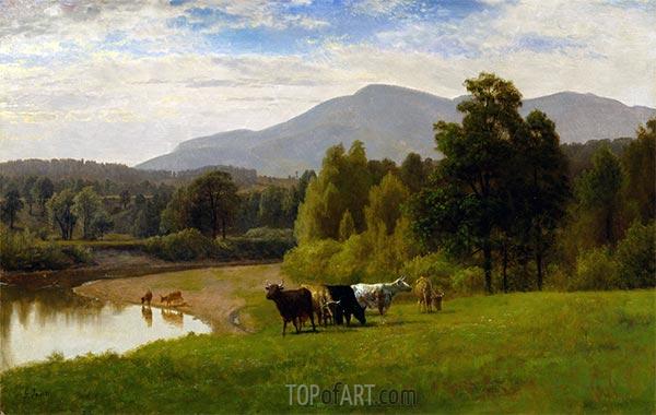 Weideland, 1867 | George Inness | Gemälde Reproduktion