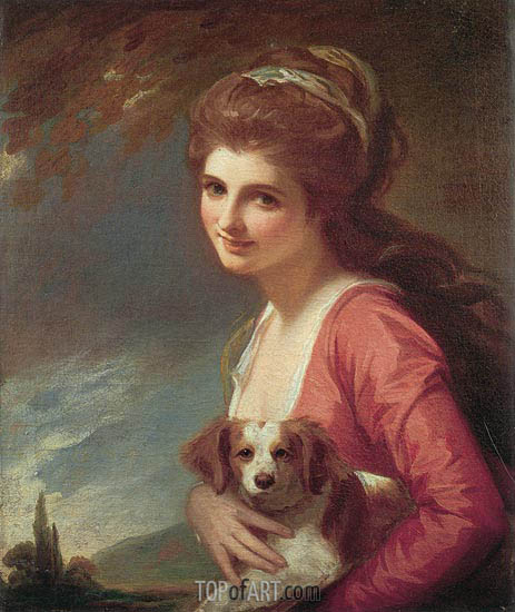 Lady Hamilton as 'Nature', 1782 | George Romney | Gemälde Reproduktion