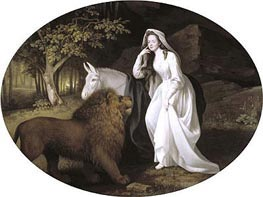 Isabella Salstonstall as Spenser's 'Faerie Queene' | George Stubbs | Painting Reproduction