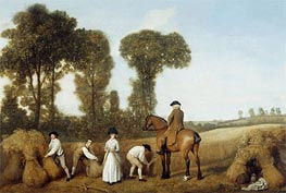 The Reapers, 1783 by George Stubbs | Painting Reproduction