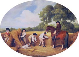 Reapers, 1795 by George Stubbs | Painting Reproduction
