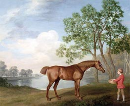 Pumpkin with a Stable-Lad, 1774 by George Stubbs | Painting Reproduction
