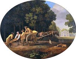 Labourers, 1781 von George Stubbs | Gemälde-Reproduktion