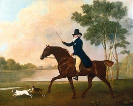 George IV when Prince of Wales, 1791 by George Stubbs | Painting Reproduction