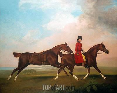 George Stubbs | William Anderson mit zwei gesattelte Pferde, 1793