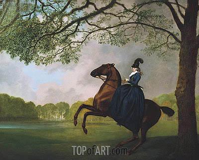 George Stubbs | Laetitia, Lady Lade, 1793