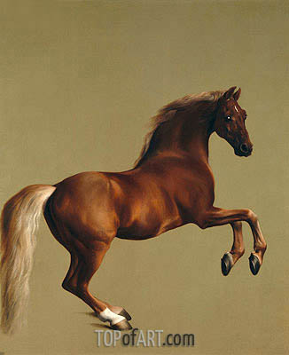 George Stubbs | Whistlejacket, 1762