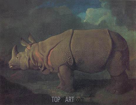 George Stubbs | Rhinoceros, c.1790/91