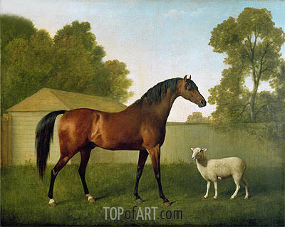 'Dungannon', the property of Colonel O'Kelly, 1793 | George Stubbs | Painting Reproduction