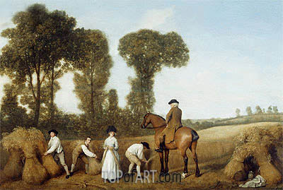 The Reapers, 1783 | George Stubbs | Painting Reproduction