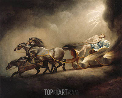 The Fall of Phaeton, undated | George Stubbs| Painting Reproduction
