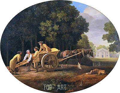 Labourers, 1781 | George Stubbs| Painting Reproduction
