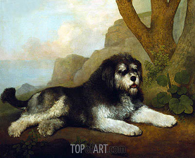 A Rough Dog, 1790 | George Stubbs| Painting Reproduction