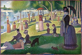 A Sunday on La Grande Jatte, c.1884/86 von Georges Seurat | Gemälde-Reproduktion
