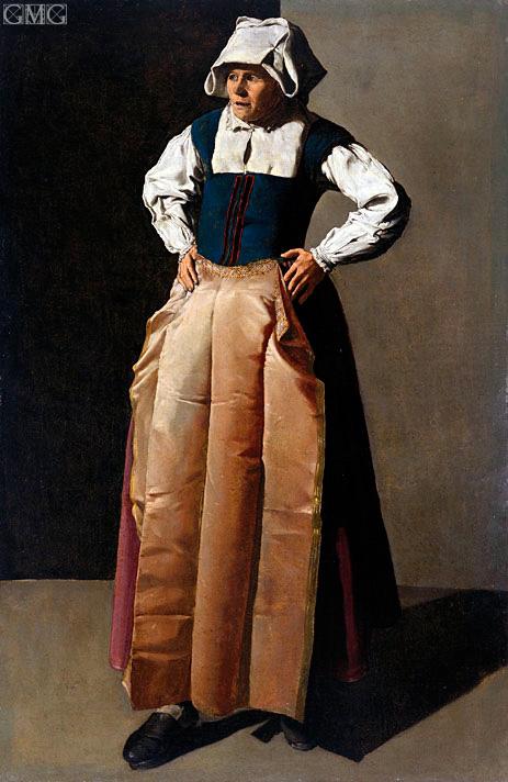 Georges de La Tour | Old Woman, c.1618/19