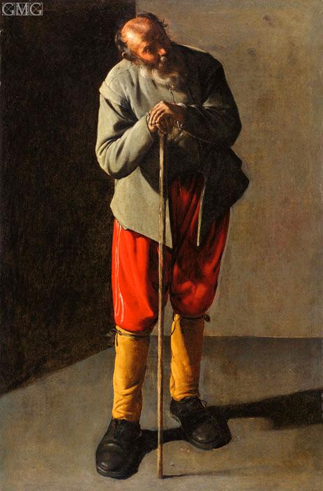 Georges de La Tour | Old Man, c.1618/19
