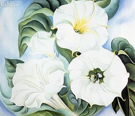 Jimson Weed | O'Keeffe | Painting Reproduction