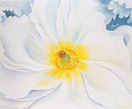 White Flower | O'Keeffe | Painting Reproduction