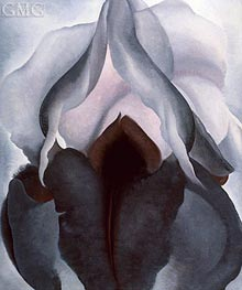 Black Iris III | O'Keeffe | Painting Reproduction