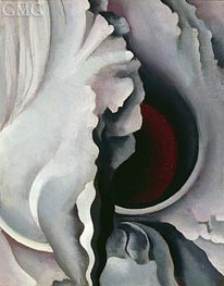 The Dark Iris II | O'Keeffe | Painting Reproduction