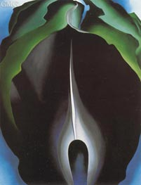Jack in the Pulpit IV, 1930 von O'Keeffe | Gemälde-Reproduktion