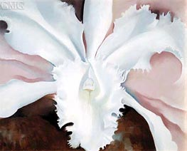 Narcissa's Last Orchid | O'Keeffe | Painting Reproduction