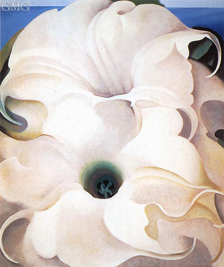 Two Jimson Weeds, 1938 | O'Keeffe | Painting Reproduction
